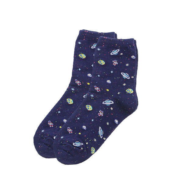 Space Socks (4 Colors)