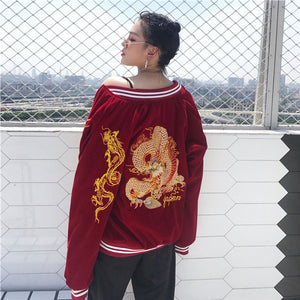 Wild Dragon Bomber (2 Colors)