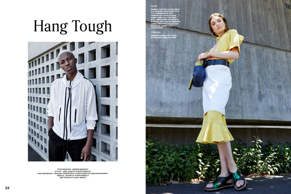 Hang Tough - Fashion journal