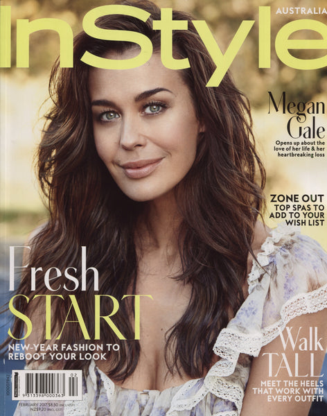 Instyle Magazine features James & Irisa Jewellery