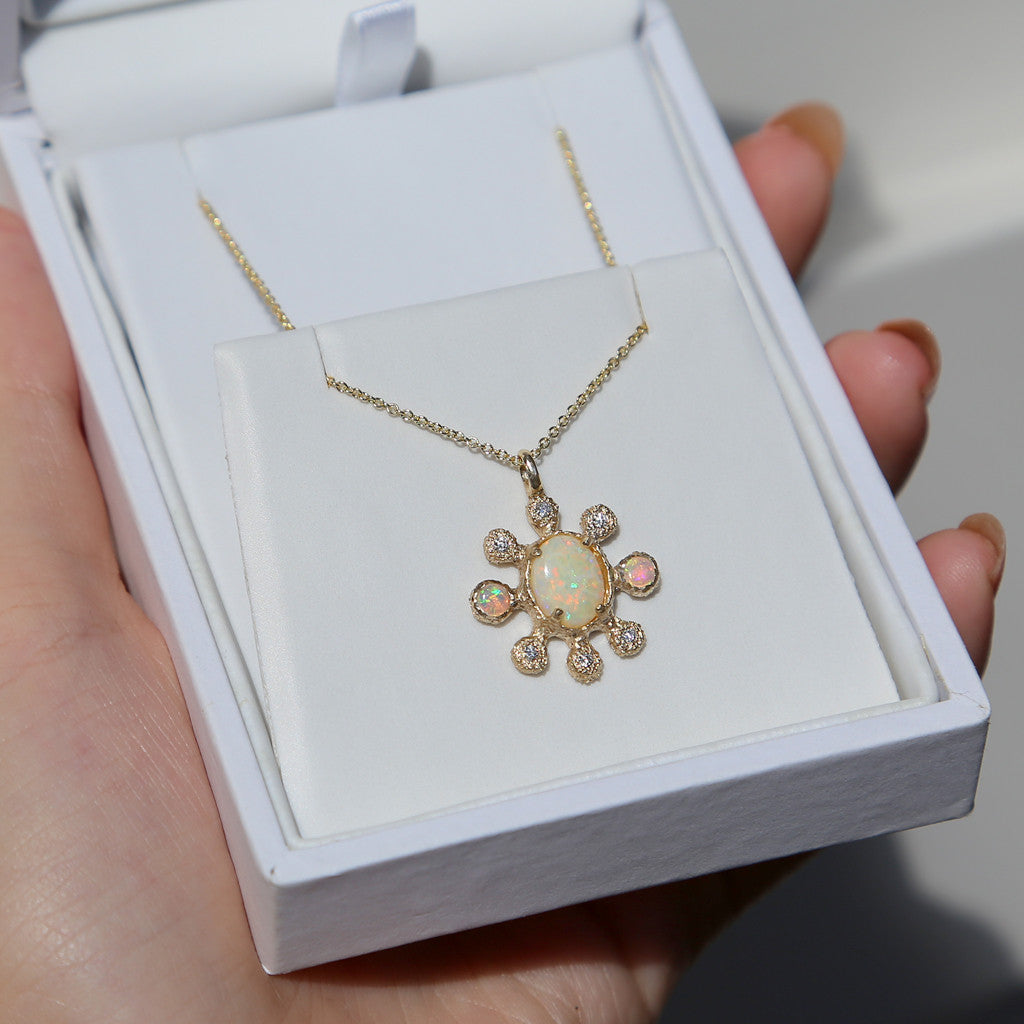 Sunray Necklace - James & Irisa Jewellery