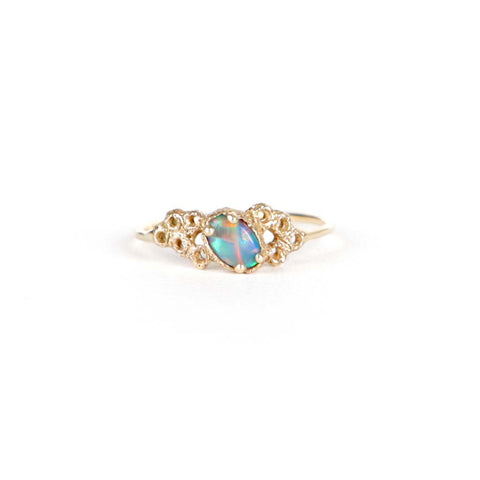 Meteor Crater Opal Ring 3
