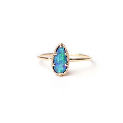 Opal Stacking Ring - James & Irisa Jewellery