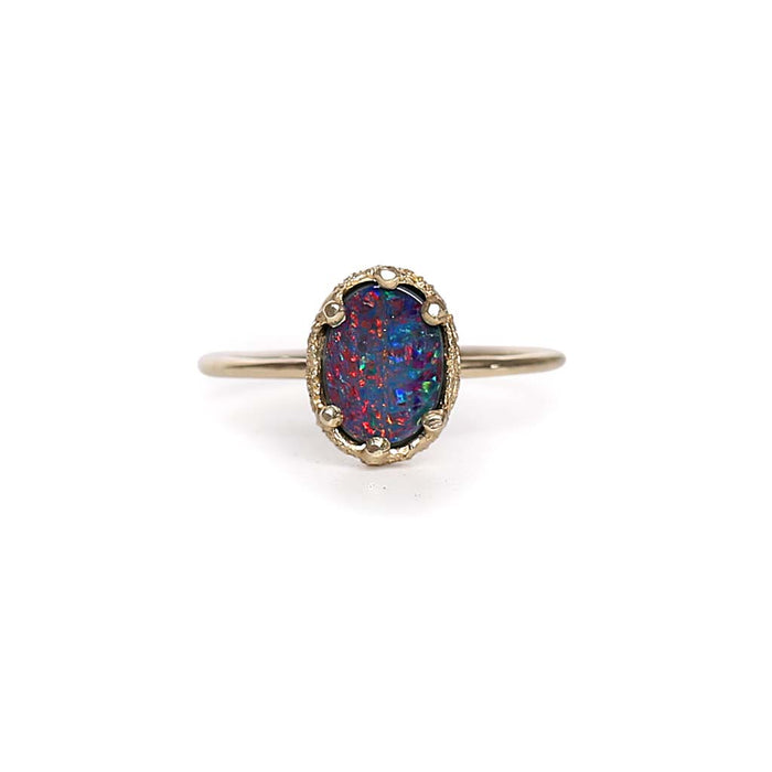 Opal Doublet Stacking Ring 2