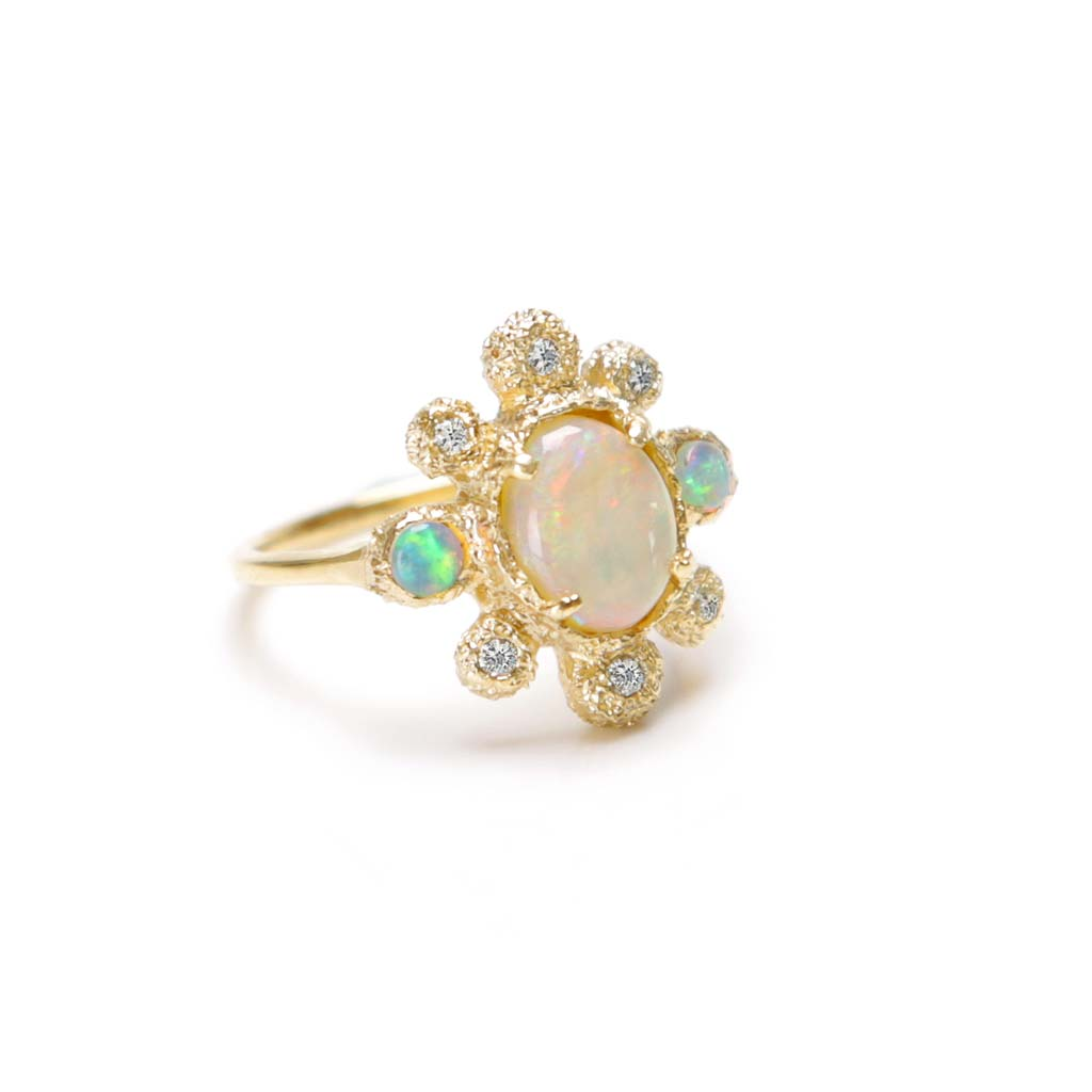 Sunray Ring (14K) - James & Irisa Jewellery