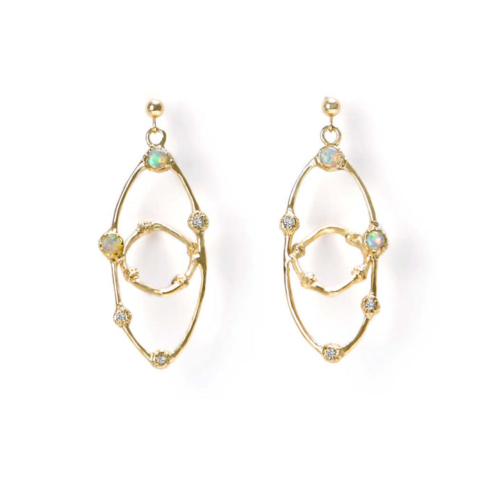 Orbit Earrings - James & Irisa Jewellery