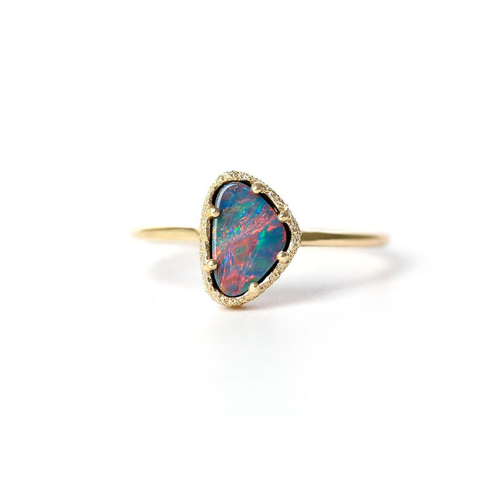 Opal Stacking Ring 3 (9K)