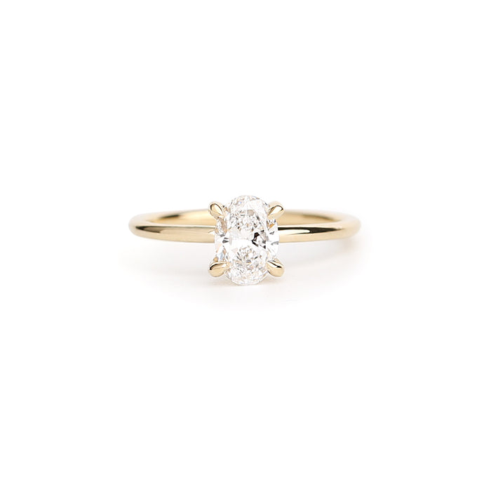 Ritual diamond solitaire ring