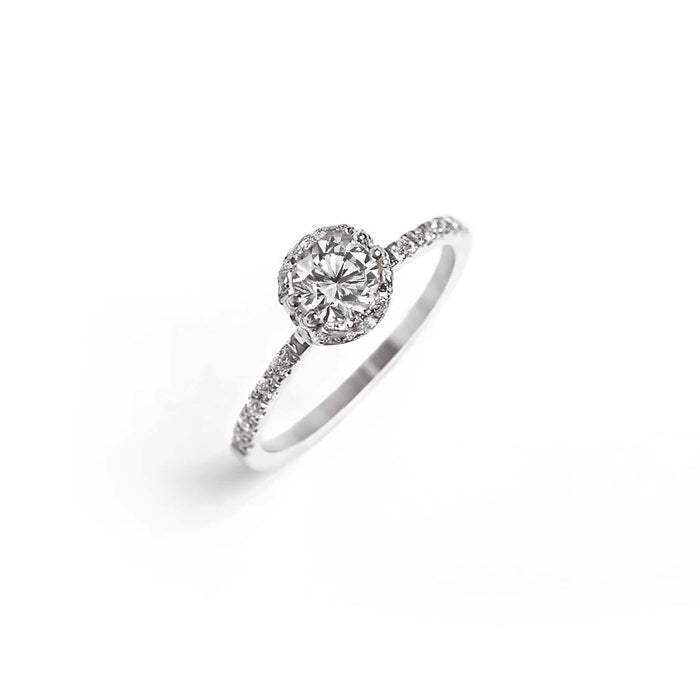 Promise Diamond Solitaire Ring - James & Irisa Jewellery