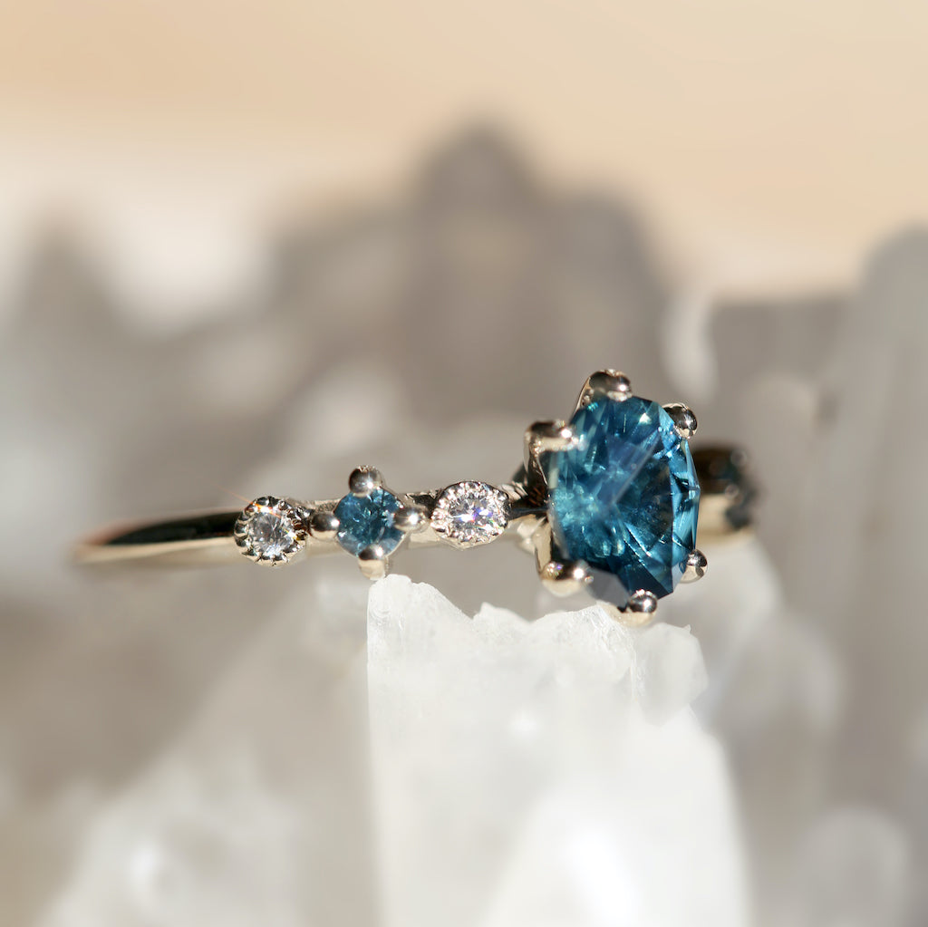 Harmony Oval Sapphire Ring