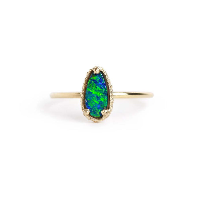 Opal Doublet Stacking Ring 6