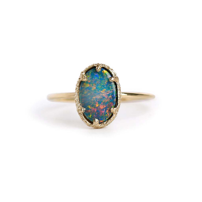 Opal Stacking Ring 5
