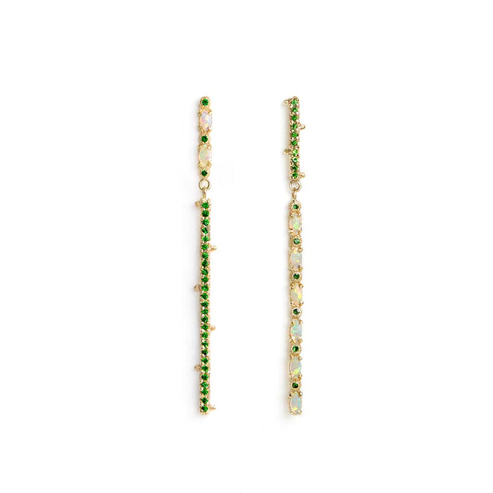Line Earrings - James & Irisa Jewellery