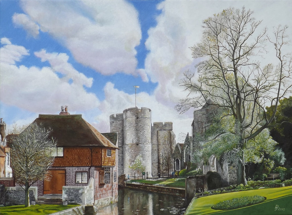 A View of the Westgate in Canterbury