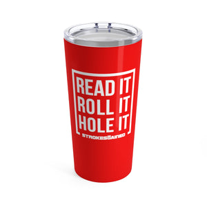 Strokes Gained Hole It Tumbler 20oz