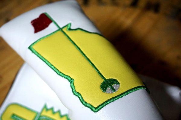 Strokes Gained April's Major Appliqué Headcover