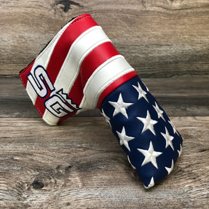 American Flag Appliqué Headcover