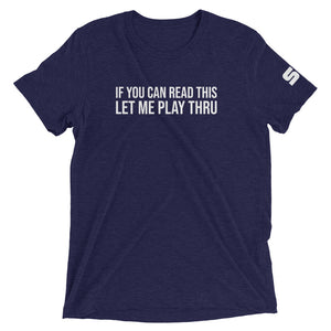 Play Thru T-shirt