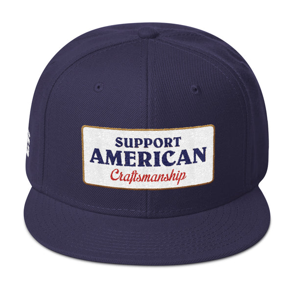 Support American Craftsmanship Hat