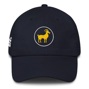 Navy GOAT Golf Hat