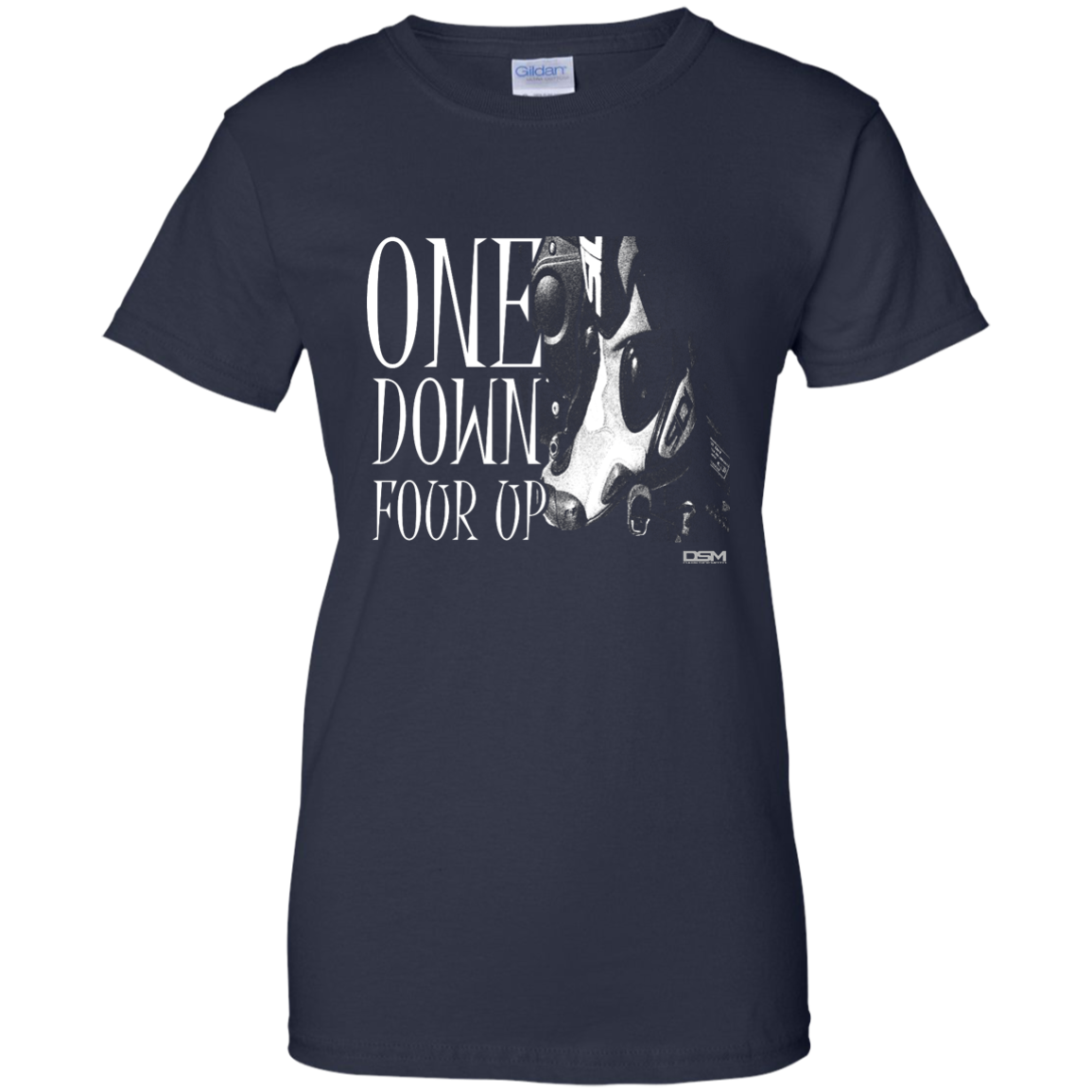One Down Four Up T-Shirt – Calgary Cycle City
