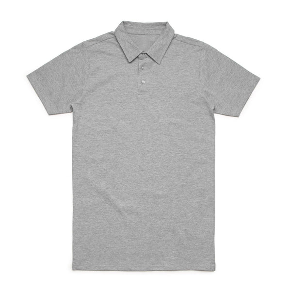 Shirt Grey Marle / S Men's Jersey Polo