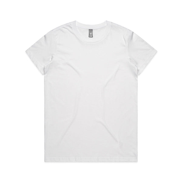 Tee WHITE / XS MAPLE ORGANIC TEE