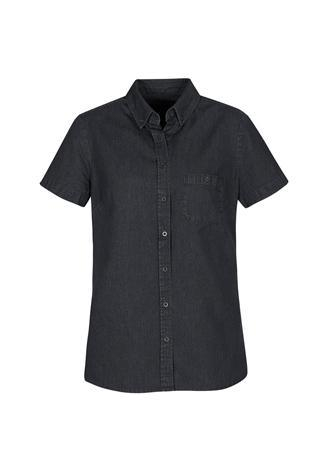Black / 6 Indie Ladies Short Sleeve Shirt