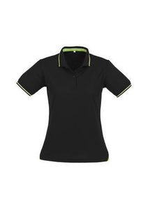 Black/Bright Green / 8 Ladies Jet Polo