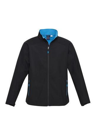 Black/Cyan / S Mens Geneva Jacket
