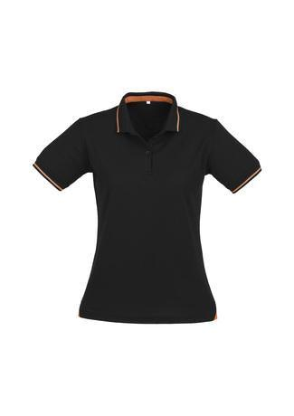 Black/Orange / 8 Ladies Jet Polo