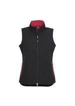 Load image into Gallery viewer, Black/Red / S Ladies Geneva Vest