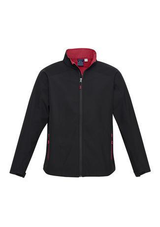 Black/Red / S Mens Geneva Jacket