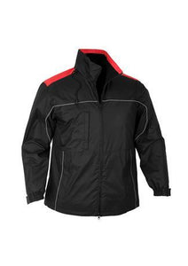 Black/Red / S Mens Reactor Jacket