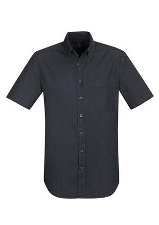 Black / XS Indie Mens Short Sleeve Shirt