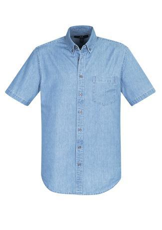 Blue / XS Indie Mens Short Sleeve Shirt