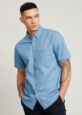 Indie Mens Short Sleeve Shirt