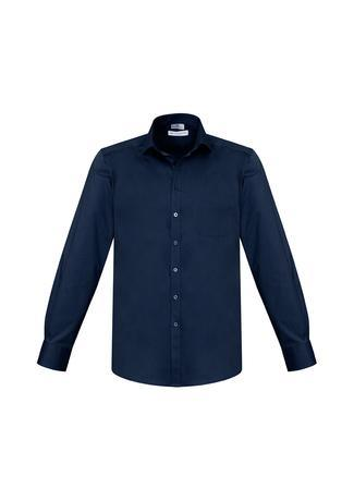 Ink / XS Mens Monaco Long Sleeve Shirt