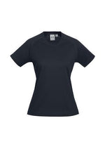 Load image into Gallery viewer, Navy / 6 Ladies Sprint Tee