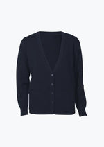 Load image into Gallery viewer, Navy / S Ladies Woolmix Cardigan