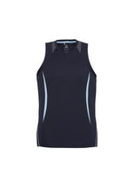 Load image into Gallery viewer, Navy/Sky / S Mens Razor Singlet