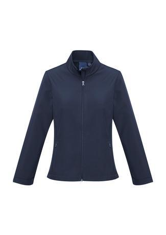Navy / XS Ladies Apex Lightweight Softshell Jacket