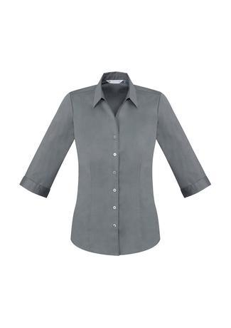 Platinum / 6 Ladies Monaco 3/4 Sleeve Shirt