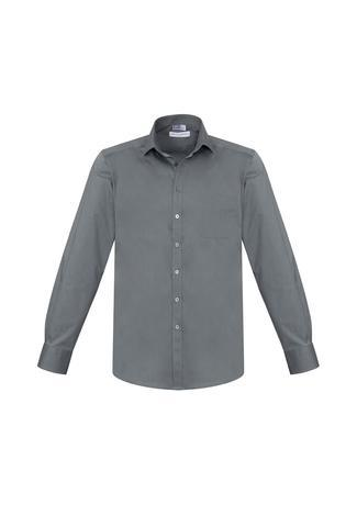 Platinum / XS Mens Monaco Long Sleeve Shirt