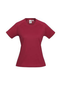 Red / 6 Ladies Sprint Tee