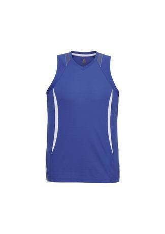 Royal/White / S Mens Razor Singlet