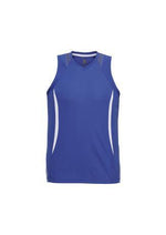 Load image into Gallery viewer, Royal/White / S Mens Razor Singlet