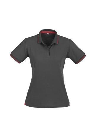 Steel Grey/Red / 8 Ladies Jet Polo