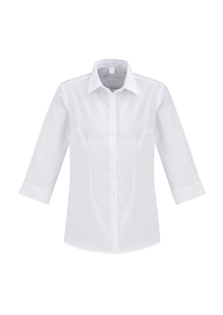 White / 6 Ladies Regent ¾/S Shirt