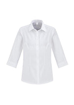 Load image into Gallery viewer, White / 6 Ladies Regent ¾/S Shirt